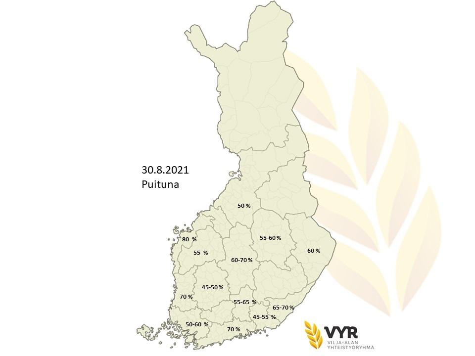 Kartta puituna 30 8 2021