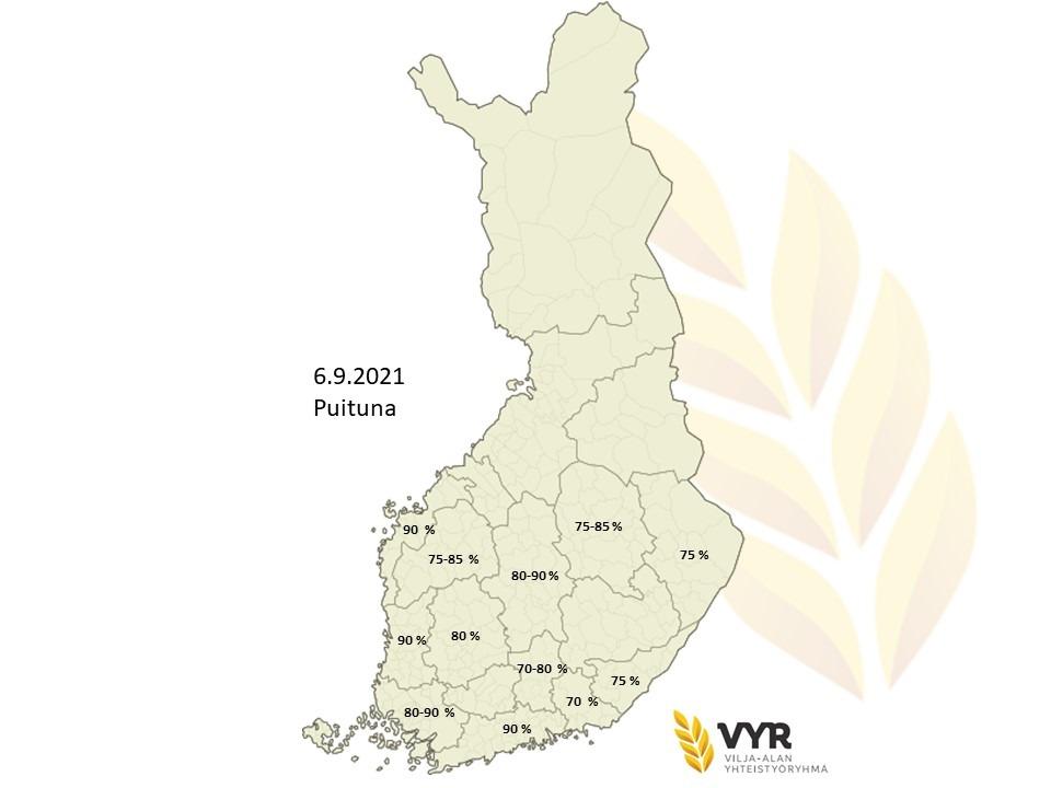 Kartta puituna 6 9 2021