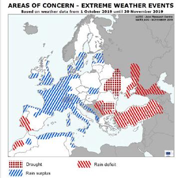 MARS 1119 areas of concern