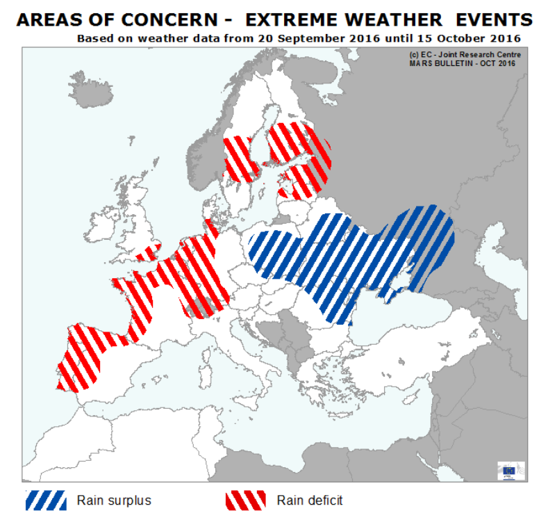 Areas of Concern - extreme weather events 20 9  15 10