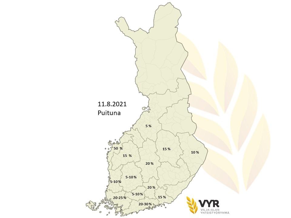 Kartta puituna 11 8 2021