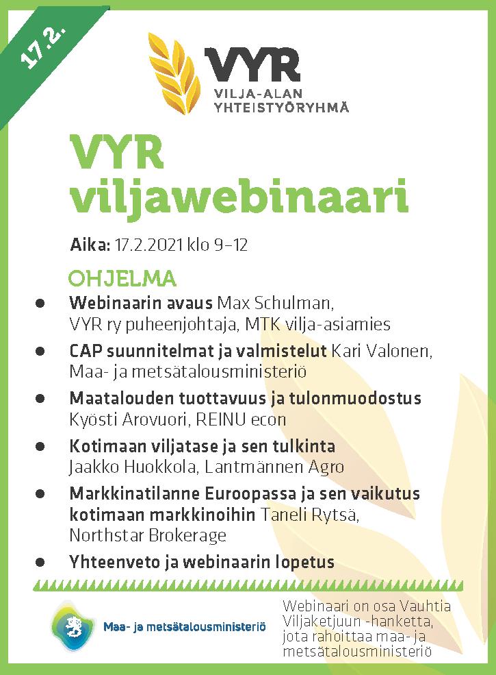 Viljawebinaari 2021